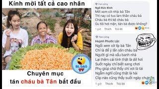 BLdaoTV- Chuyên mục làm thơ tán cháu gái bà Tân - phần 55