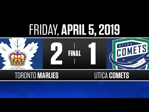 Marlies vs. Comets | Apr. 5, 2019