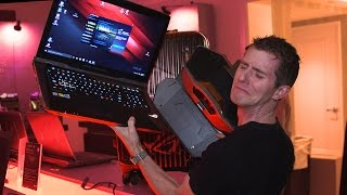 The LEAST PORTABLE Laptop Yet! ASUS GX800