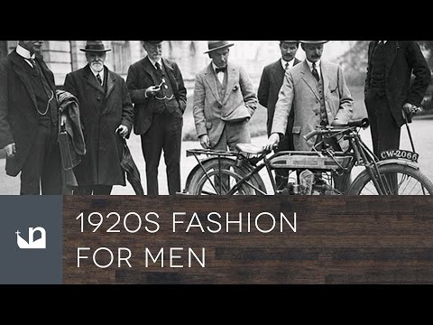 1920s Men's Fashion  - Male Style From The Past