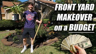 Front Yard Makeover On A Budget! Full DIY & How To Tutorial! Plantu!