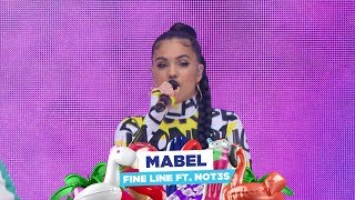 Mabel   'Fine Line Feat NOT3s' (live At Capital's Summertime Ball 2018)
