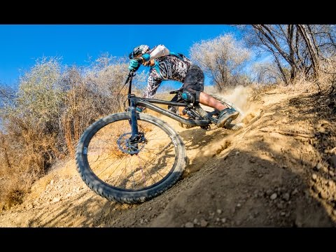 Michał Kollbek shreds the NS Bikes Snabb Plus in SoCal