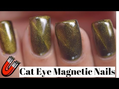 How To Apply Cat Eye Magnetic Nail Powder