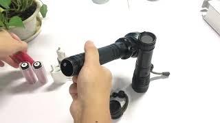 Ліхтар X92-HP70, ЗУ microUSB, 2x26650