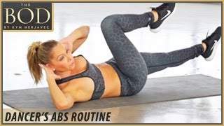 Dancer's Abs Routine: The BOD -Dancing with the Stars' Kym Herjavec by BeFiT