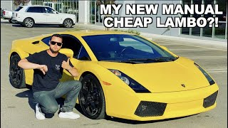 BUYING MY DREAM LAMBORGHINI! *DIRT CHEAP*