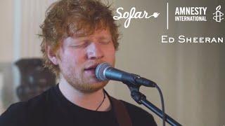 Ed Sheeran - Perfect   Sofar Washington, DC - GIVE A HOME 2017