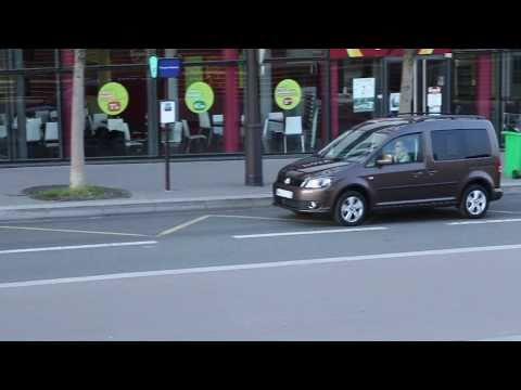 Essai Volkswagen Caddy 2011