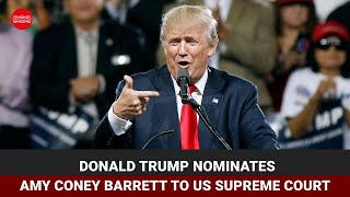 Donald Trump nominates Amy Coney Barrett to US Supreme Court - Download this Video in MP3, M4A, WEBM, MP4, 3GP