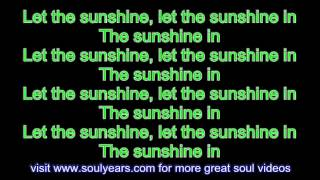 The 5th Dimension - Aquarius/Let the Sunshine In (with lyrics)