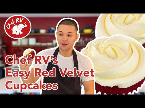 RED VELVET CUPCAKES WITH STABLE CREAM CHEESE FROSTING