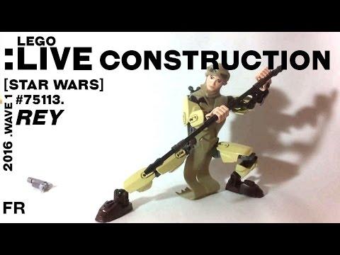 Vidéo LEGO Star Wars 75113 : Rey