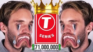 THE END IS NEAR..! (PewDiePie vs T-Series)