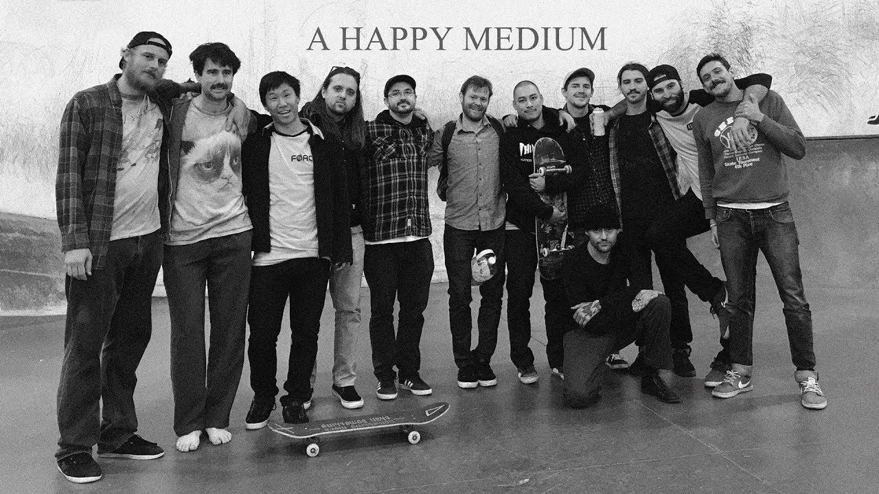 A Happy Medium - In The Park - The Berrics