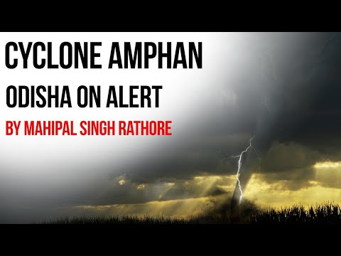 Cyclone AMPHAN forming over Bay of Bengal,   -Odisha on alert  #CurrentAffairs2020