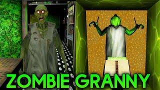 GRANNY IS ZOMBIE! CAR ESCAPE ENDING! - Granny