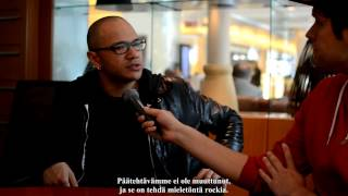 Danko Jones interview about Rock And Roll Is Black And Blue 2012