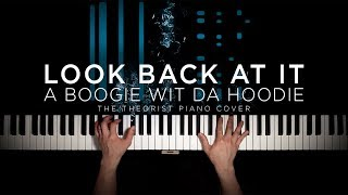A Boogie Wit Da Hoodie   Look Back At It | The Theorist Piano Cover