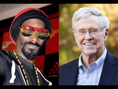 Snoop Dogg Teams Up w/ Charles Koch To Legalize Weed
