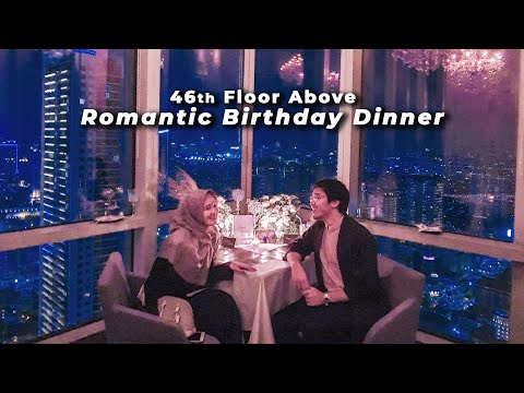 Romantic Birthday Dinner dari Tunangan Tersayang 💙