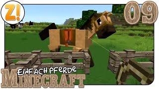 Minecraft Einfach Pferde Pferde Und Ein Wagen Lets Play - Minecraft pferde spielen