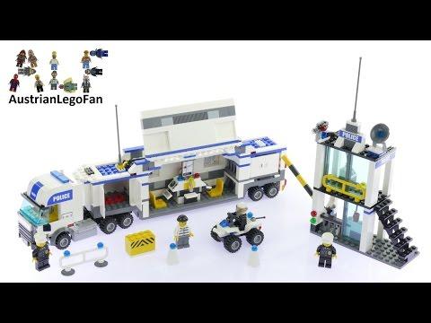 Vidéo LEGO City 7743 : Le camion de police