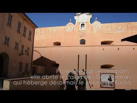 VIDEO. La Citadelle de Bastia, un lieu incontournable