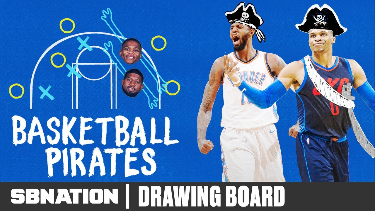 Paul George and Russell Westbrook are here to steal your basketball thumbnail
