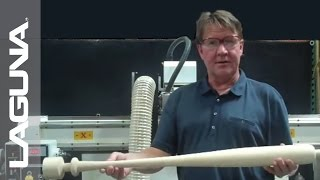 Baseball Bat CNC Turner - Laguna Tools