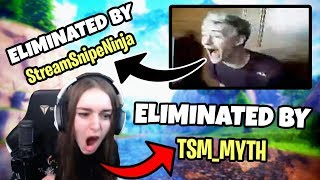 FORTNITE STREAM SNIPERS COMPILATION! (Ninja, Daequan, Faze Cloakzy, & More!)