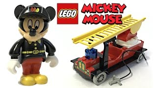LEGO Mickey Mouse Fire Engine review and unboxing! 2000 set 4164!