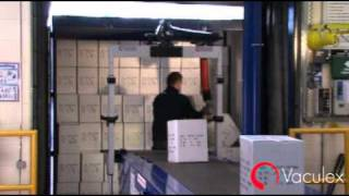 Unloading or Loading Containers or Trailers - using Vaculex ParceLift