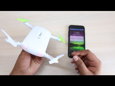 Affordable Foldable Pocket Drone With Camera Unboxing & Review