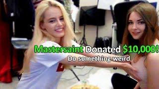 Donating $10,000 to Random Streamers..