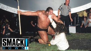 FULL MATCH - Undertaker & Big Show vs. Rock & Mankind - Buried Alive Match: SmackDown, Sept. 9, 1999