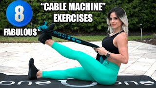 MICHELLE LEWIN: 8 Fabulous Upper Body Exercises To Replace Cable Machines // Home Workout