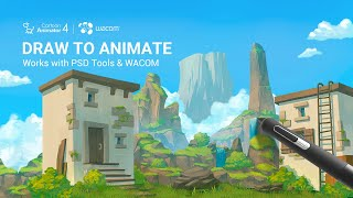 Cartoon Animator 4 - Draw To Animate Pipeline Works With XP PEN Tablets & Mainstream PSD Tools