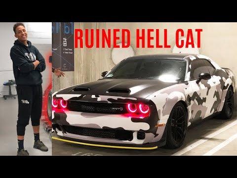 Tall Guy Car Reviews Ruins His New Hellcat| Eddie Bulk