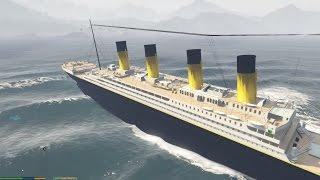 GTA 5 RMS Titanic Mod - Tìm thấy tàu bí ẩn Titanic trong GTA 5