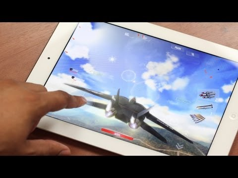 New iPad: Quad-Core Gaming Demo