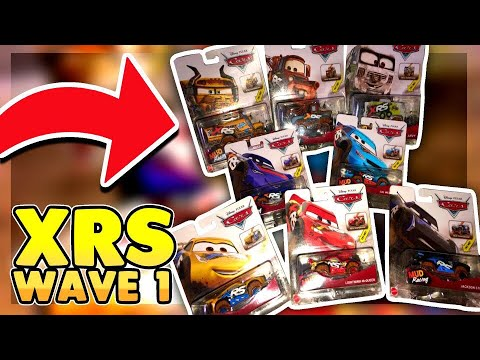 Disney Cars 2019 XRS Wave 1 Racers Set Of 8 Real Suspension Diecast | New Years Special 🥳🏆🏁