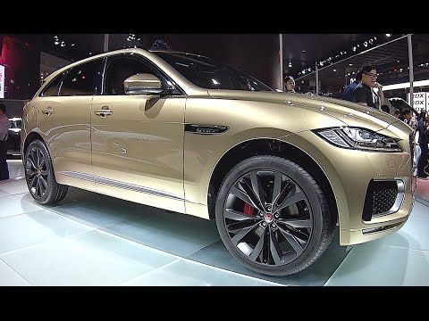 New SUV Jaguar F Pace  2016, 2017 interior, exterior video
