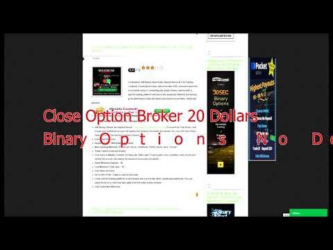Broker opzioni binarie bonus