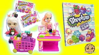 Shopkins Shoppies Doll Sara Sushi Shops at Small Mart Matching Season 4 Collector Cards