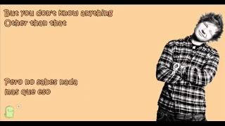 Gold Rush - Ed Sheeran Sub. Ingles/Español