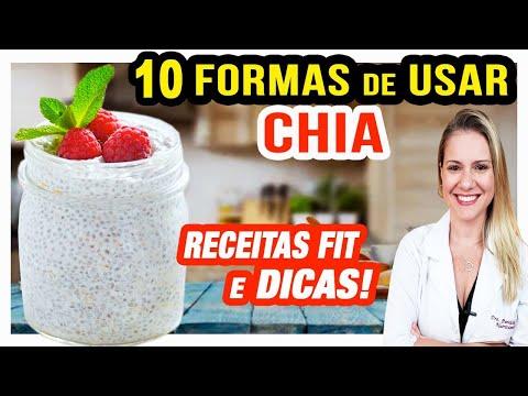 10 Formas de Usar a Chia na Dieta [SUPER DICAS e RECEITAS]