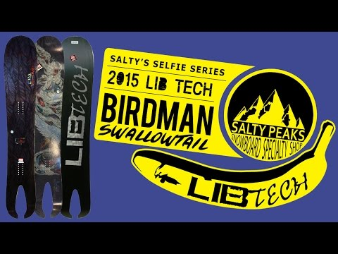 Limited Edition 2015 Lib Tech Birdman Swallowtail Review