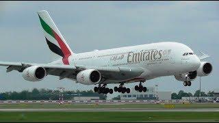 1 Hour+ Plane Spotting at Prague Václav Havel Airport, PRG   Inc A380!