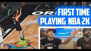 NBA 2K First-Timer RAGE